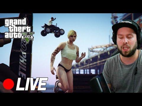 GTA V -  WE ZIJN WEER HELEMAAL LIVE!  (Stream)