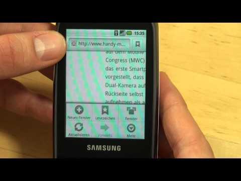 Samsung I5500 Galaxy 5 Test Internet