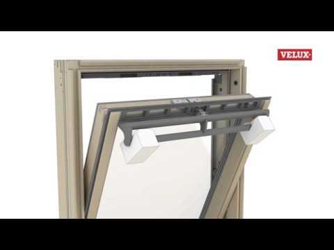 Montage Instructie Verwijderen Draaiend Gedeelte Van Velux Dakraam Youtube