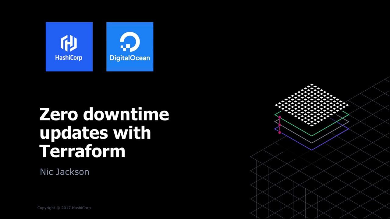 Zero Downtime Updates with HashiCorp Terraform