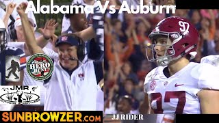 AUBURN UPSETS ALABAMA | last few minutes of the game | Only in College Football