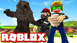 STEALING ALL THE HONEY FROM BEAR!!! / ROBLOX BEE SWARM SIMULATOR