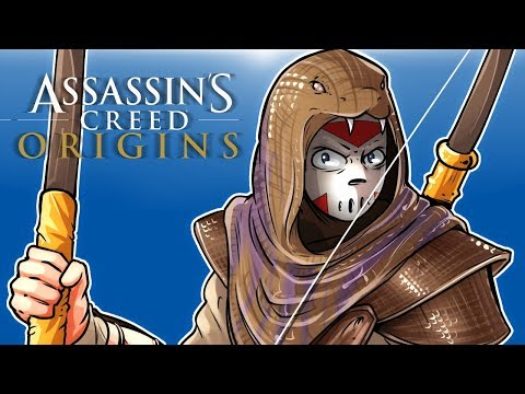 Thumbnail: Assassin's Creed Origins - Attacking Strongholds, Animal Attacks and Exploring!