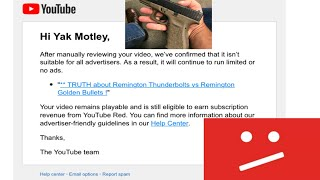 Why GUN videos will be EXTINCT on YouTube!