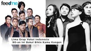 Gak Cuma Jualan Tampang, Lima Grup Vokal Indonesia 90-an Ini Juga Punya Suara yang Khas