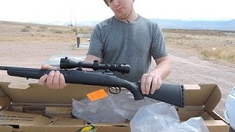 Unboxing Savage Axis XP 223 Rifle