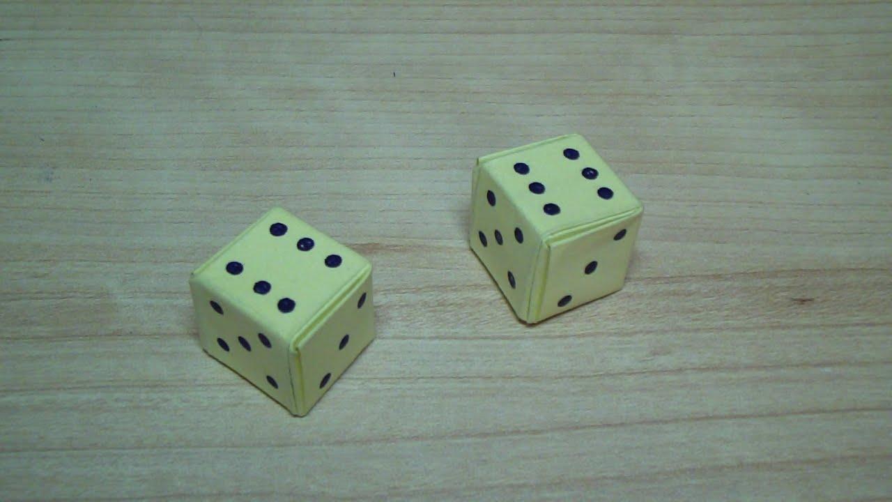 Игральные кубики своими руками фото 334