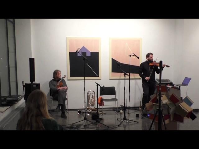 Georges-Emmanuel Schneider Solo - Violine + Live-Elekronik