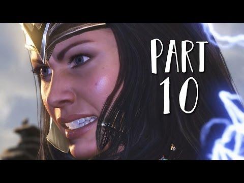 INJUSTICE 2 Walkthrough Gameplay Part 10 - Wonder Woman (Story Mode)