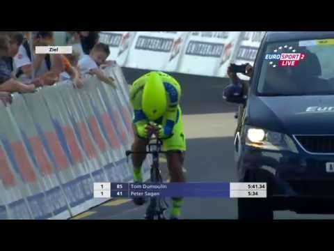 Tour de Suisse 2015 - Prologue - full run Peter Sagan