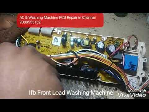 Ac Control Schematic Ifb Washing Machine Pcb Repair In Chennai Youtube