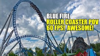 Blue Fire Roller Coaster 60fps POV Europa Park Germany(SUBSCRIBE TO OUR CHANNEL: http://bit.ly/1F2ByA1 Blue Fire at Europa Park is one AWESOME roller coaster and this 60fps video makes you feel like you are ..., 2016-10-16T13:00:05.000Z)