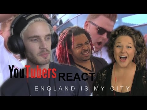 YouTubers React to England Is My CIty!!