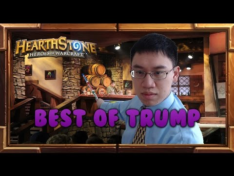 Best of Trump - Funny & Lucky Hearthstone Moments Montage (2016)
