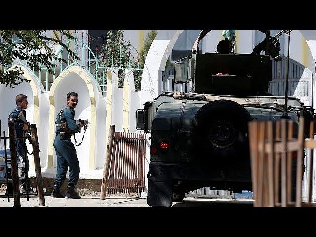 Нападение на мечеть в Кабуле