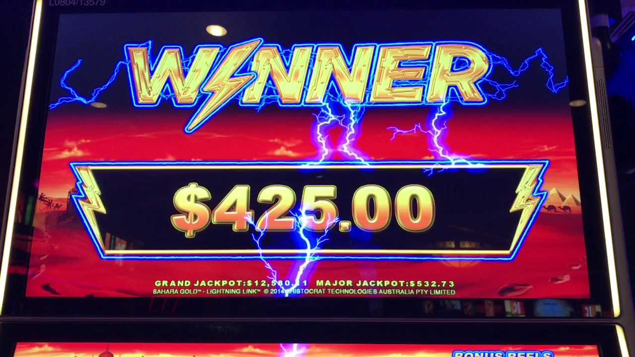 Slot machine gratis sahara