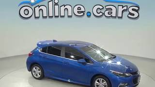 A98611CT Used 2017 Chevrolet Cruze LT FWD 4D Hatchback Blue Test Drive, Review, For Sale