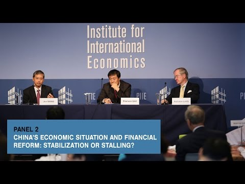 China's Economic Situation and Financial Reform: Stabilization or Stalling? Panel 2