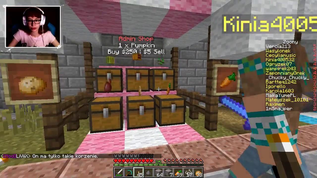 """[Archiwum] Live – Minecraft Serwer z Howardem (1) – [3/3] – """"Diamenty i Nether"""""""