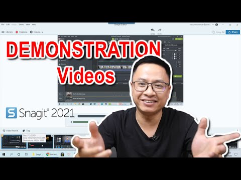How to Create Quick Demonstration Videos Using Snagit 2021