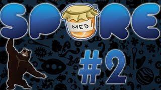 Spore [#2] -  Fáze vývoje tvorů | PC Gameplay česky | Tokan