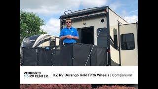 Kz Rv Durango Gold Floor Plans Overview Comparison Veurink S Rv Center Youtube