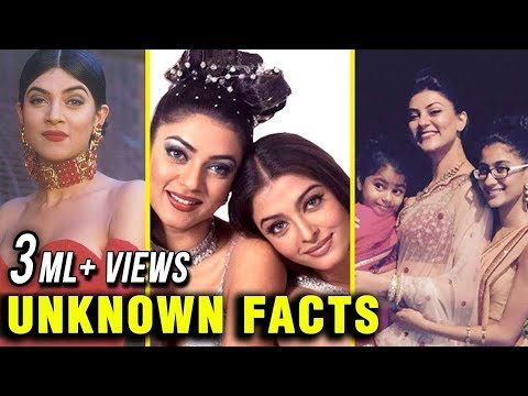 Sushmita Sen SHOCKING 32 Unknown Facts | Happy Birthday Sushmita Sen