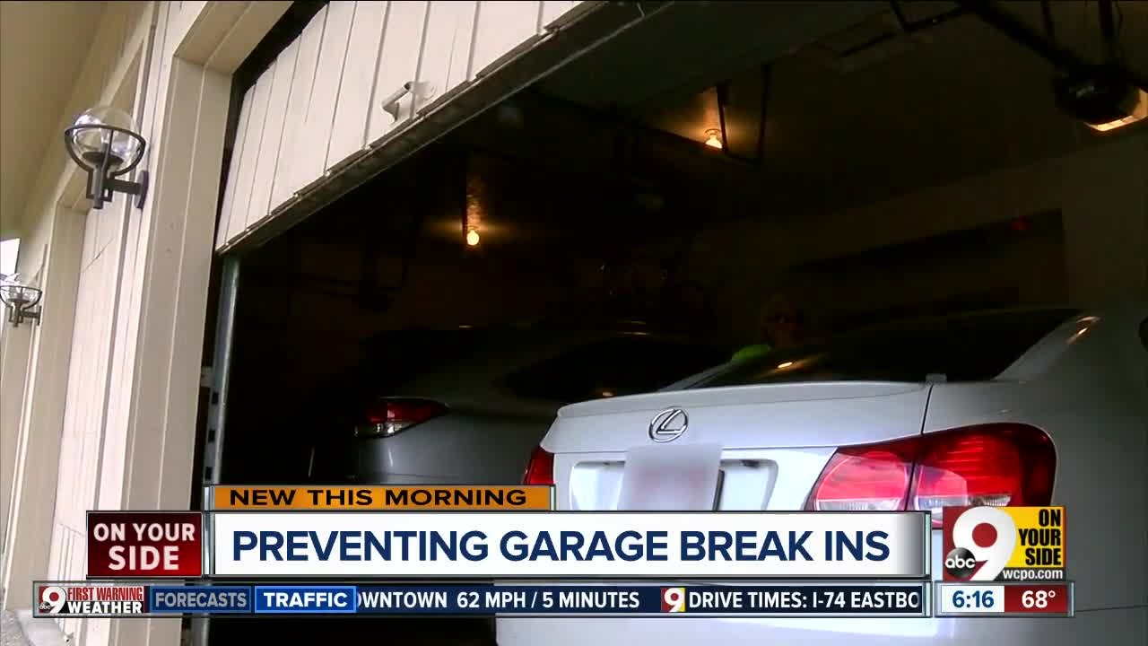 here's how to protect your garage from thieves this summer