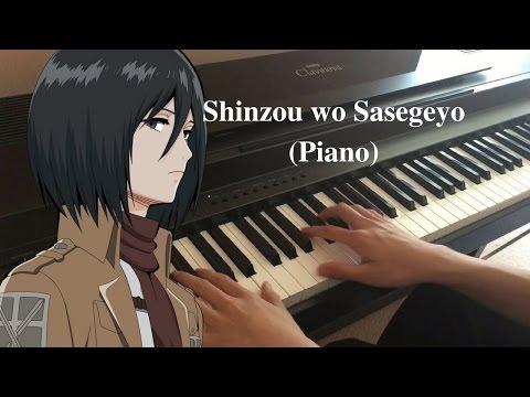 Shinzo Wo Sasageyo - Shingeki No Kyojin Season 2 Opening (Piano Cover)