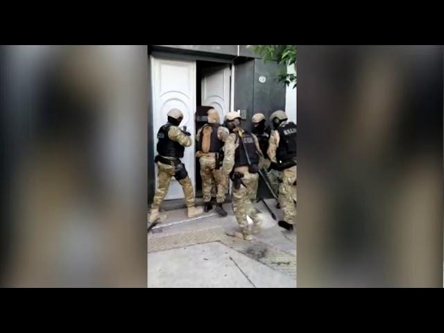 Detención falsos policías