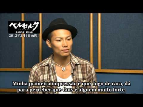 BERSERK ~ Golden Age Arc Trilogy - Entrevista ~ Guts [Iwanaga Hiroaki]