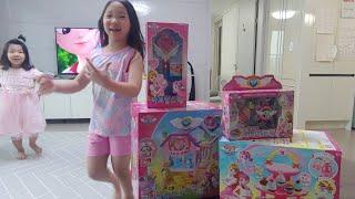 안녕 캐치 티니핑 하우스 자매 장난감 하율희야 같이놀자