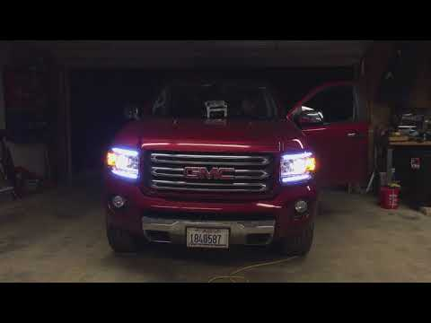 2016 Gmc Canyon Daytime Running Lamp Mod