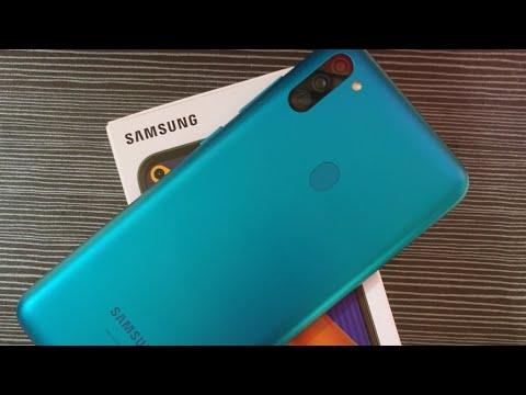 Unboxing Samsung Galaxy M11 Ram 3GB / 32GB Blue Indonesia
