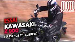 Kawasaki Z900 (2017) - puissante et légère (essai Moto Magazine)