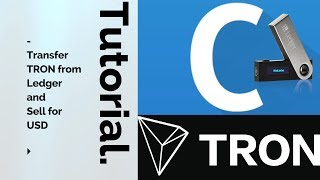 How to cash out Tron from your Ledger Nano S to USD