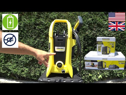 KARCHER K2 BATTERY The best CORDLESS PRESSURE WASHER for the money REVIEW