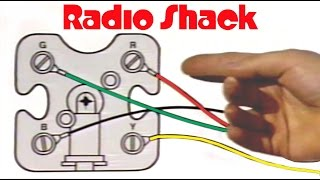 RadioShack - Telephone Installation Training - How to Install a Phone Jack & much more!