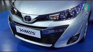 Toyota Yaris 2018 (1.5 V Classic Silver Metallic) Exterior and Interior