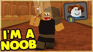 STARTING OUT AS A NOOB *NO ITEMS OR ROBUX* Dungeon Quest (Roblox)