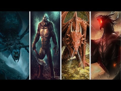 20 Largest Middle Earth Creatures