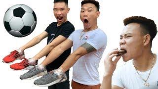 PHD | Đi Giầy Vào Tay Và Cái Kết Cười Rách Miệng | Handball Battle