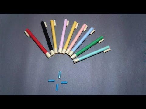 | DIY | How to make a paper POCKET MINI GUN that shoots paper bullets- | EASY TUTORİAL |