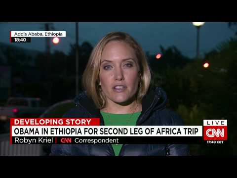 Terrorists target hotel in Somalia as US President Obama arrives in Ethiopia to talk security