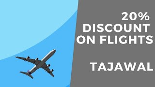 Tajawal 10% Off Promo Code For Flights & Hotels screenshot 1