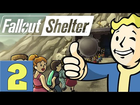 Fallout Shelter Lets Play - Episode 2 [Lunchboxes]