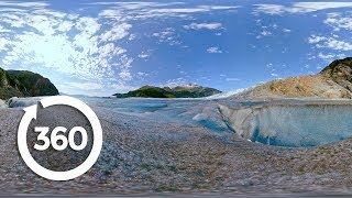 Mendenhall Glacier Helicopter Tour (360 Video)