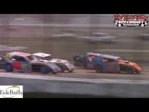 Red River Valley Speedway IMCA Sport Mod A-Main (8/17/18)