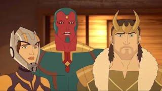Марвел   Мстители: Секретные войны   Серия 23 Сезон 4 - Дикий Запад