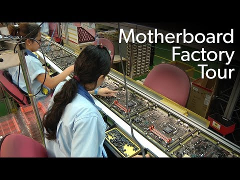 How a motherboard is made: Inside the Gigabyte factory in Ta